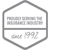 Proudly serving the insurance industry since 1992