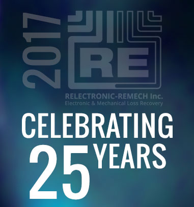 Relectronic-Remech Inc. Celebrating 25 Years