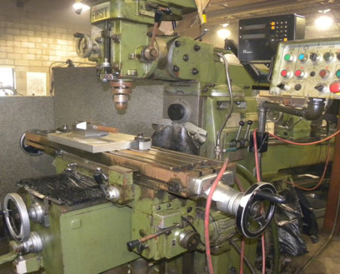 Milling Machine After Restoration