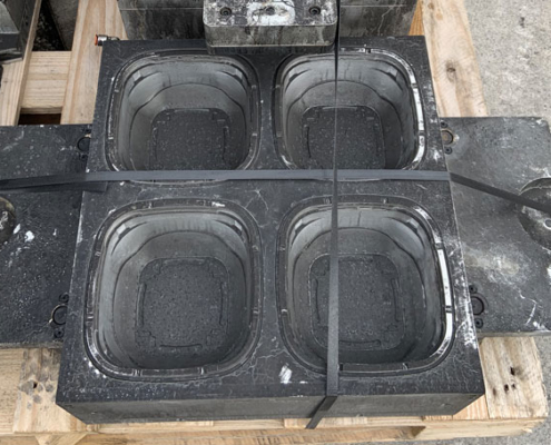 Produce mould before cleaning