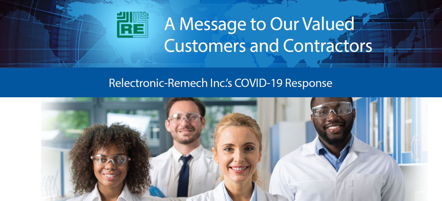 Relectronic-Remech Inc.'s COVID-19 Response