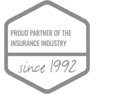 Proud partner of the insurance industry since 1992
